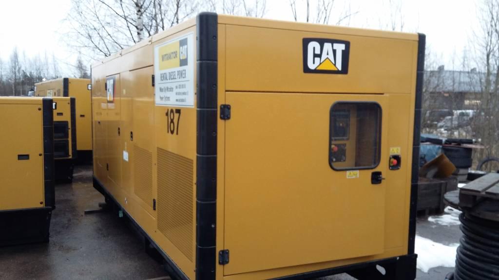 Caterpillar C18, Dieselgeneraattorit, Maarakennus