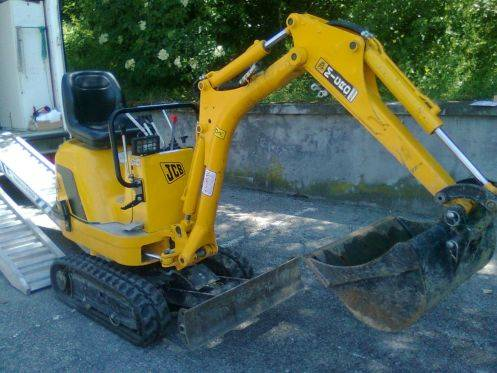JCB 8008, Mini Excavators <7t (Mini Diggers), Construction Equipment
