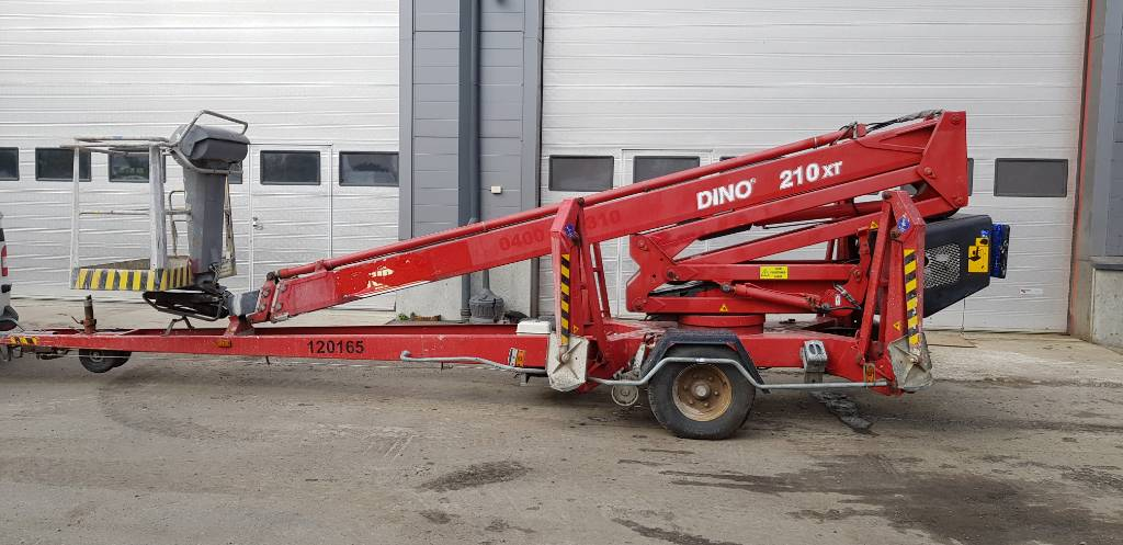 Dino 210 XT, Trailer mounted aerial platforms, Construction