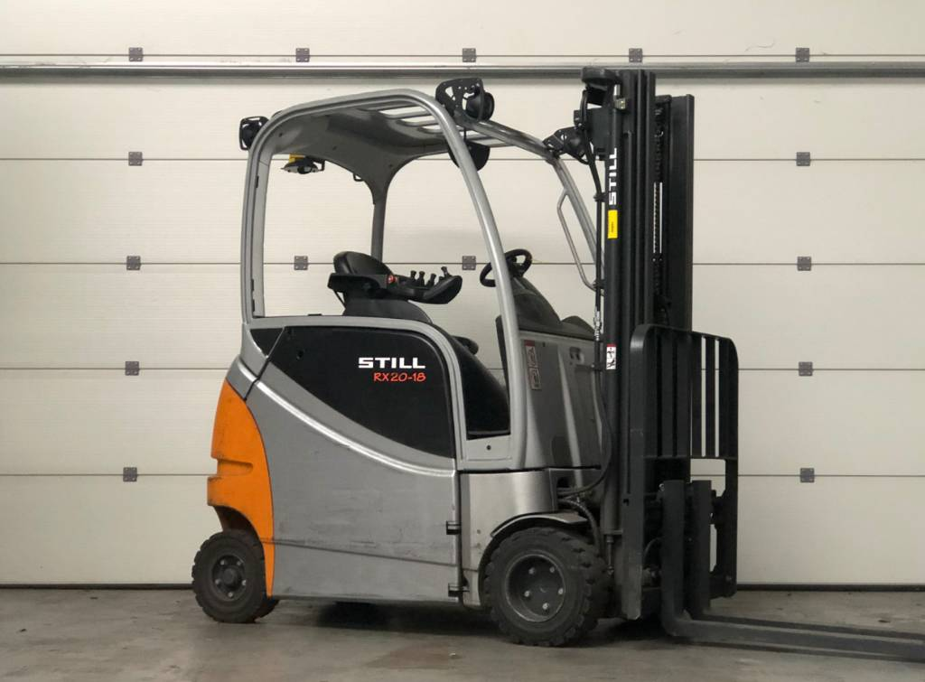 Still RX20-18P/H, Elektrische heftrucks, Laden en lossen