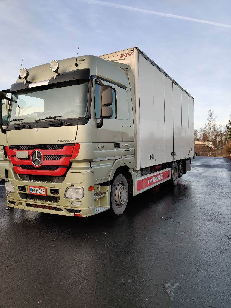 Mercedes-Benz Actros 2548, Box trucks, Trucks and Trailers