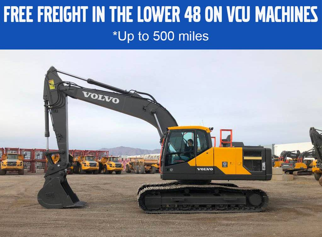 Volvo EC220EL, Crawler Excavators, Construction Equipment