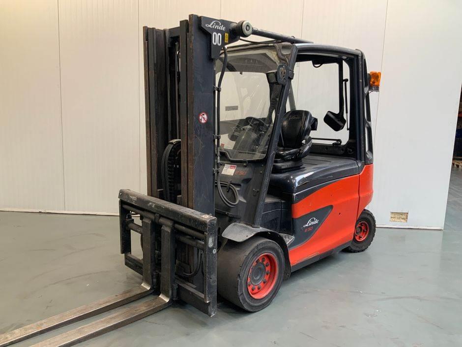Linde E50/500 HL 388 Serie, Electric Forklifts, Material Handling