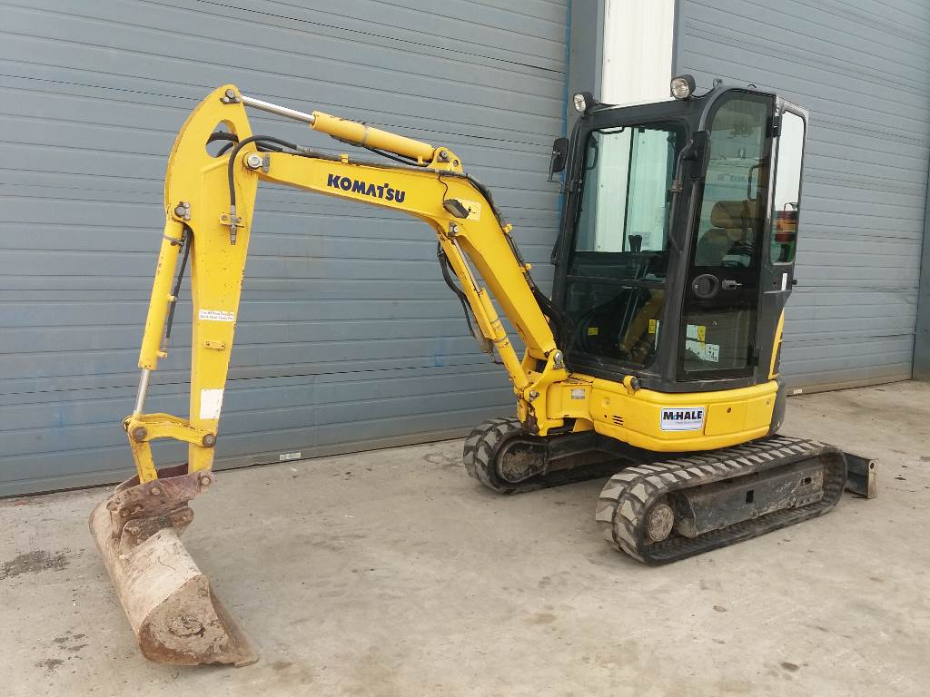 Komatsu PC26MR-3, Mini excavators, Construction Equipment