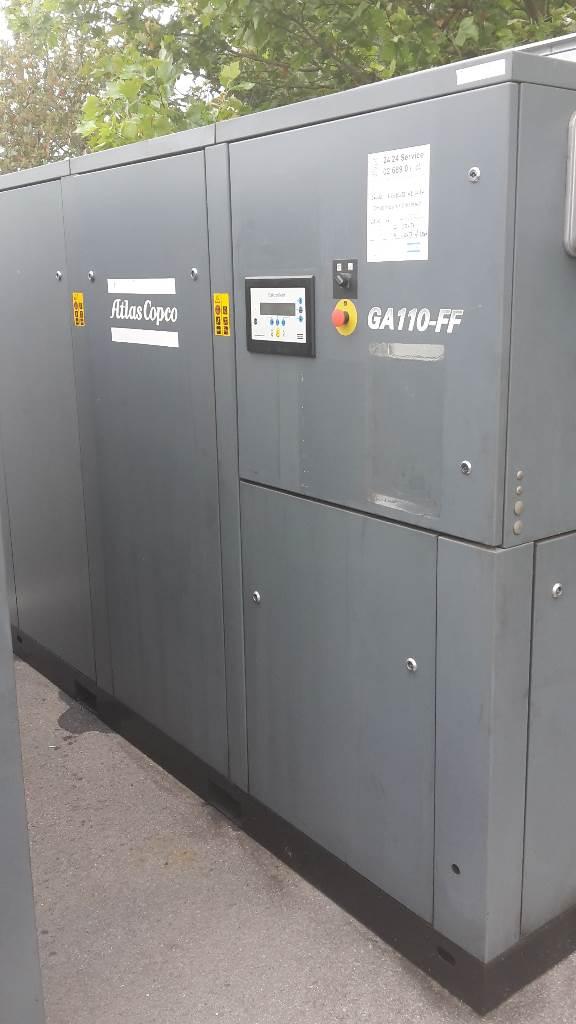 Atlas Copco GA 110 FF, Compressors, Industrial
