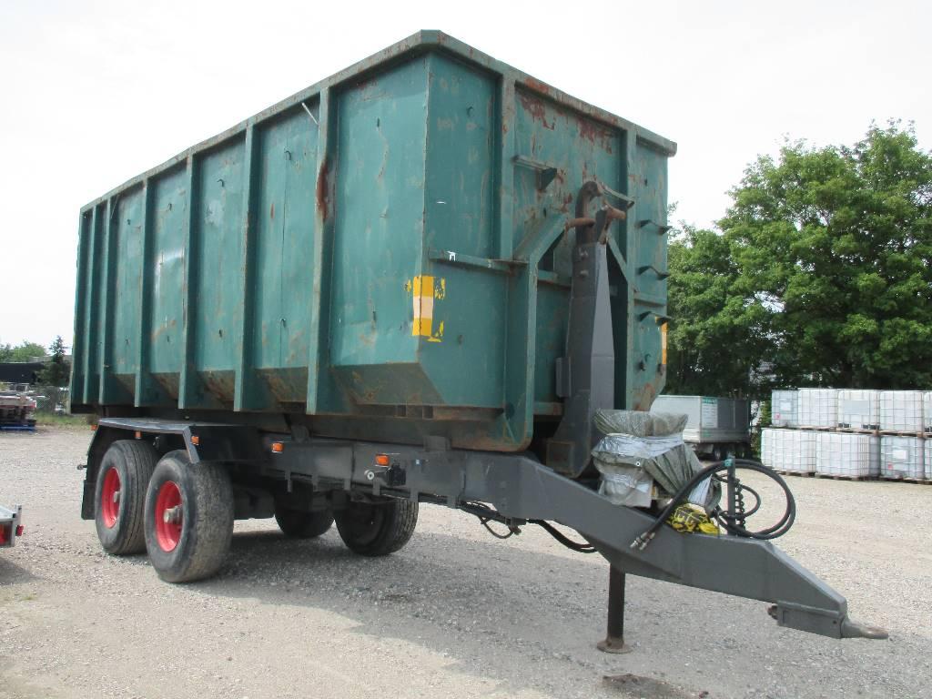 [Other] M-Tec PH-19/24 Kroghejsvogn, Anhænger med containerramme, Transport