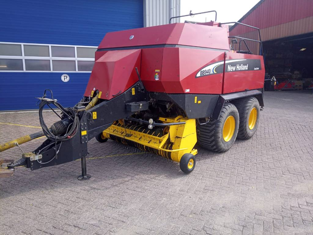 New Holland BB 940 R, Vierkante balenpers, All Used Machines