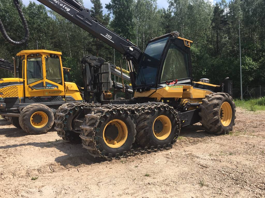 Eco Log 560 D, Harvesterid, Metsandus