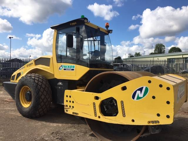 Bomag BW 219 DH-5, Single drum rollers, Construction