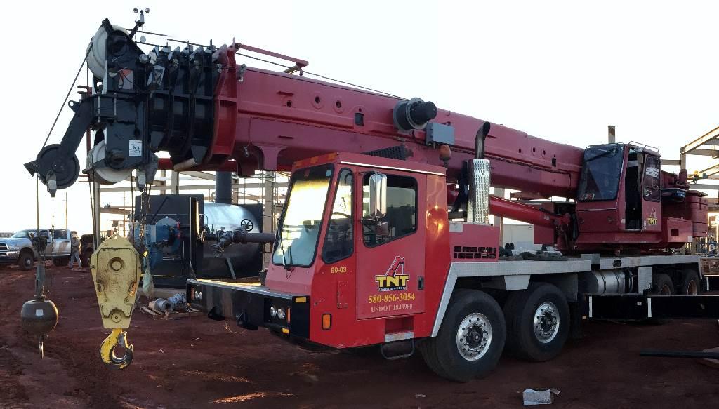 Grove TMS 900 E, All Terrain Cranes and Hydraulic Truck Cranes, Construction Equipment