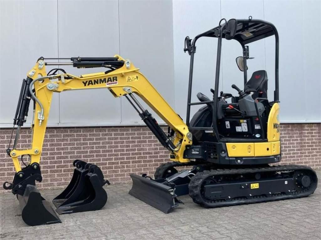 Yanmar VIO 23-6 MINIGRAVER, Mini excavators, Construction Equipment
