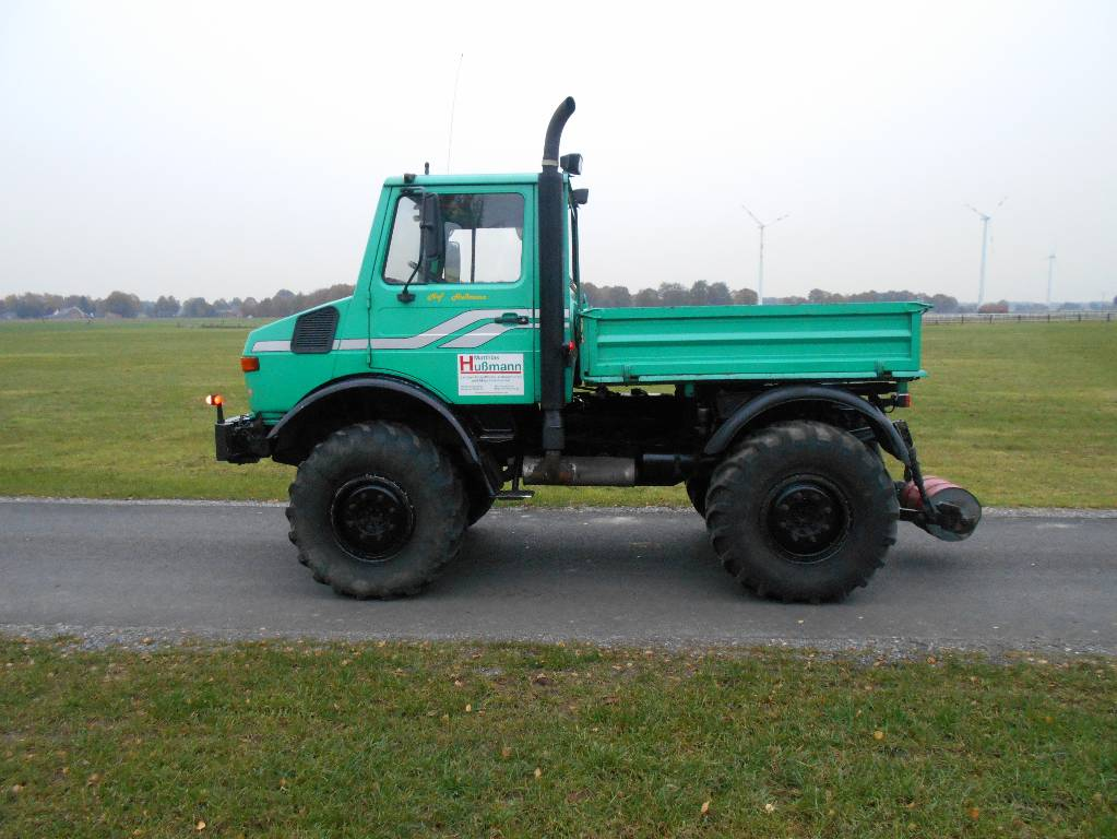Used mercedes benz unimog u1600 agrar tractors year 1991 for Mercedes benz unimog