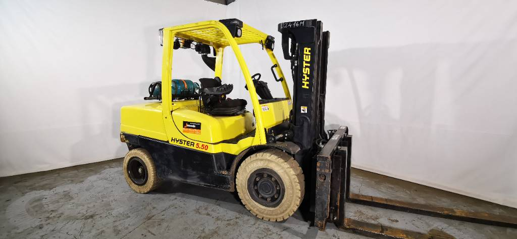 Hyster H 5.5 FT, LPG counterbalance Forklifts, Material Handling