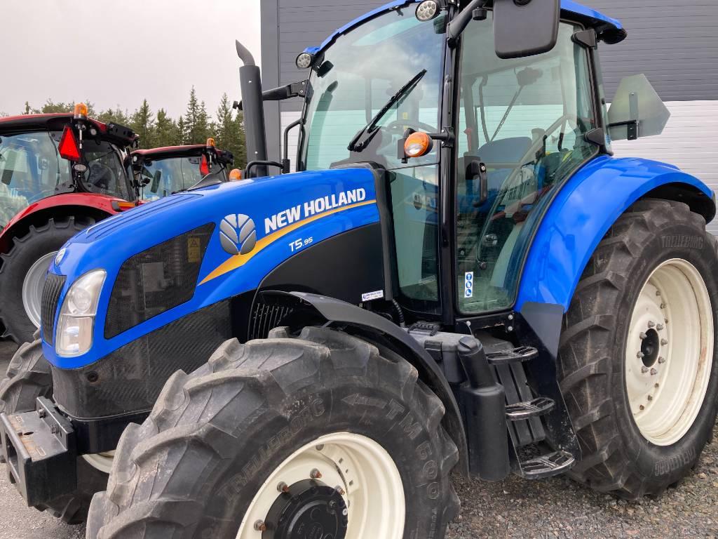 New Holland T 5.95   DC, Traktorit, Maatalous