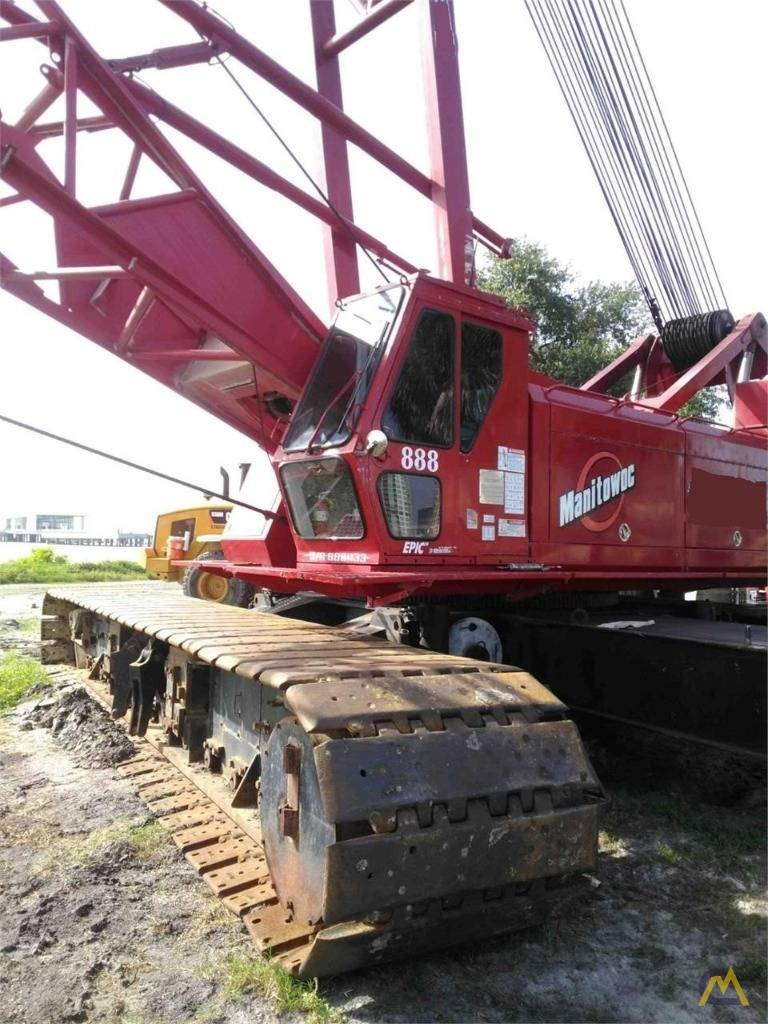 Manitowoc 888 S2, Crane Parts and Equipment, Construction Equipment