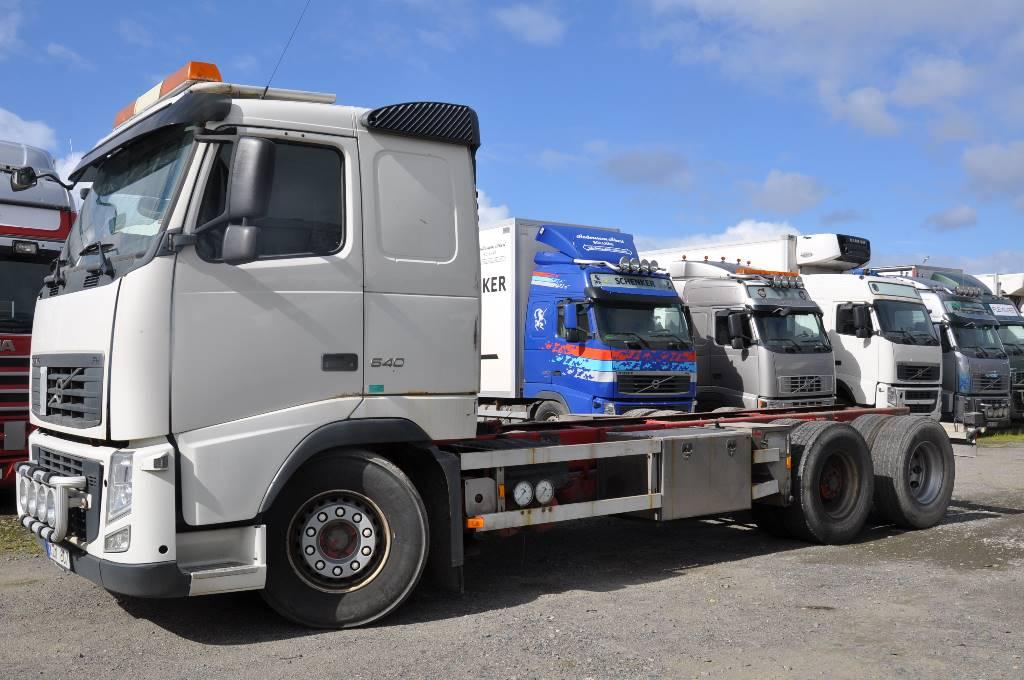 Volvo FH540 6X2, Chassier, Transportfordon