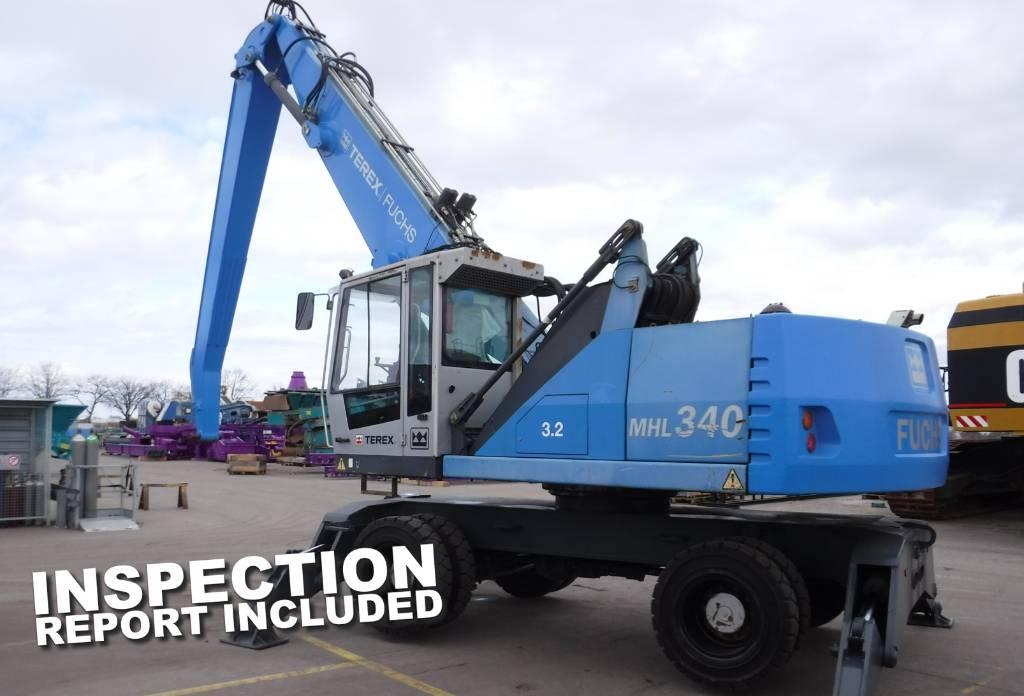 Fuchs MHL 340 D, Waste / industry handlers, Bouw