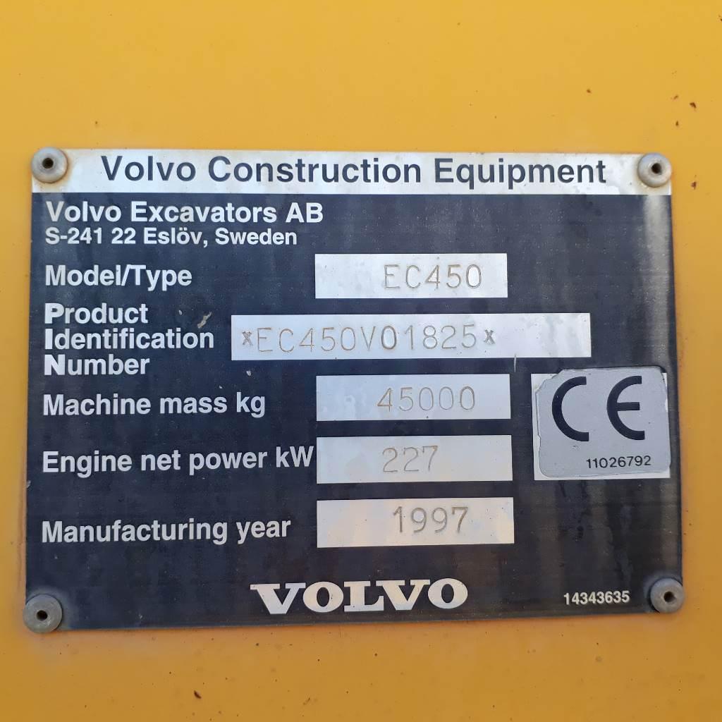 Volvo EC 450, Crawler Excavators, Construction Equipment