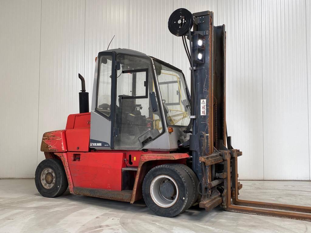Kalmar DCE70-6, Diesel heftrucks, Laden en lossen
