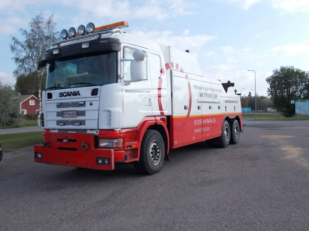 Scania HINAUSAUTO R 164, Recovery vehicles, Trucks and Trailers