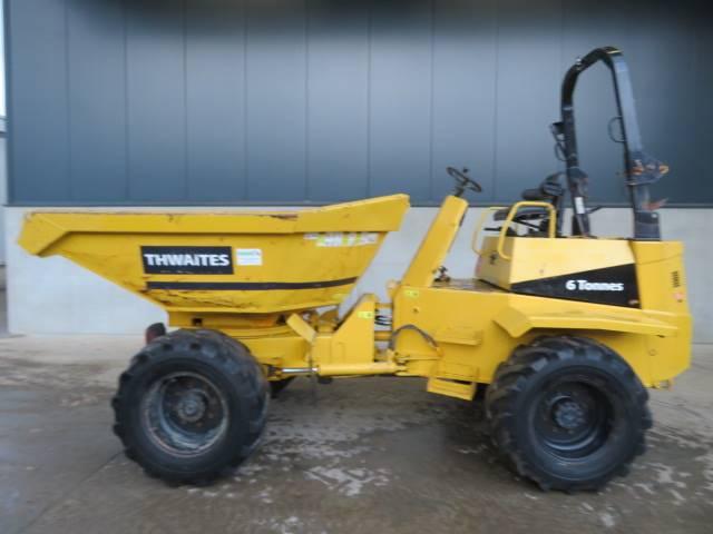 Thwaites 6 tonne, Mini Dumpers, Bouw