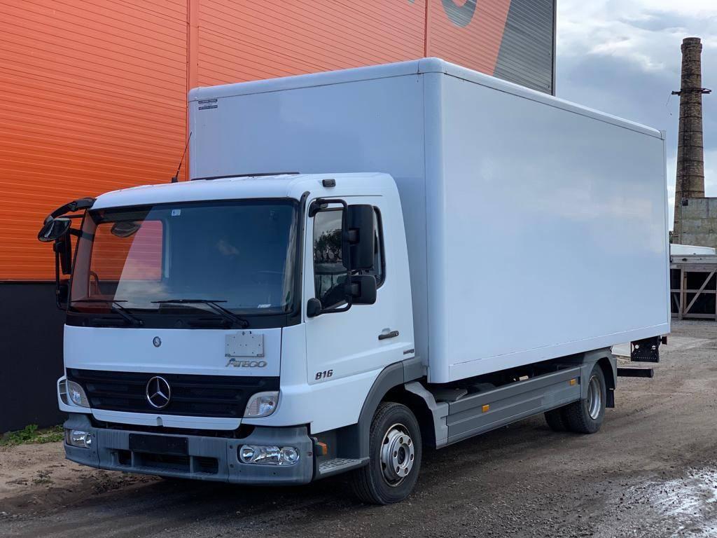 Mercedes-Benz Atego 816, Furgoonautod, Transport