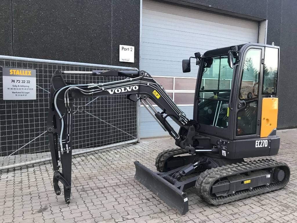 Volvo EC27D, Minigraver<br>under 12 t., Entreprenør