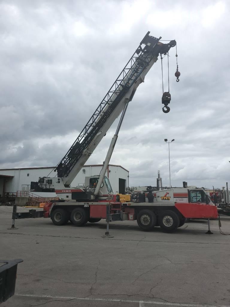 Link-Belt HTC8670, All Terrain Cranes and Hydraulic Truck Cranes, Construction Equipment