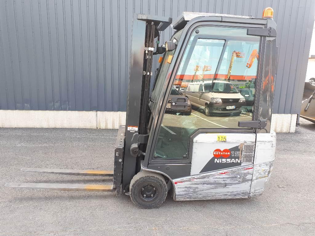 Nissan 1N1L15Q, Sähkötrukit, Materiaalinkäsittely
