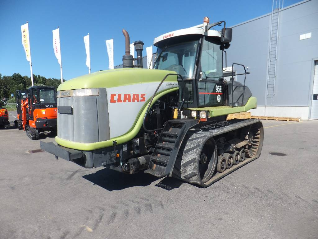 CLAAS Challenger 95 E, Traktoriai, Žemės ūkis