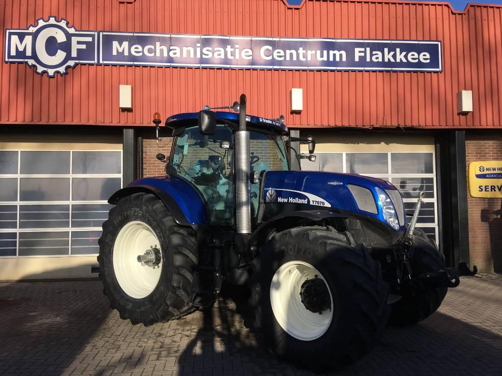New Holland T7070 Auto Command, Tractoren, Landbouw