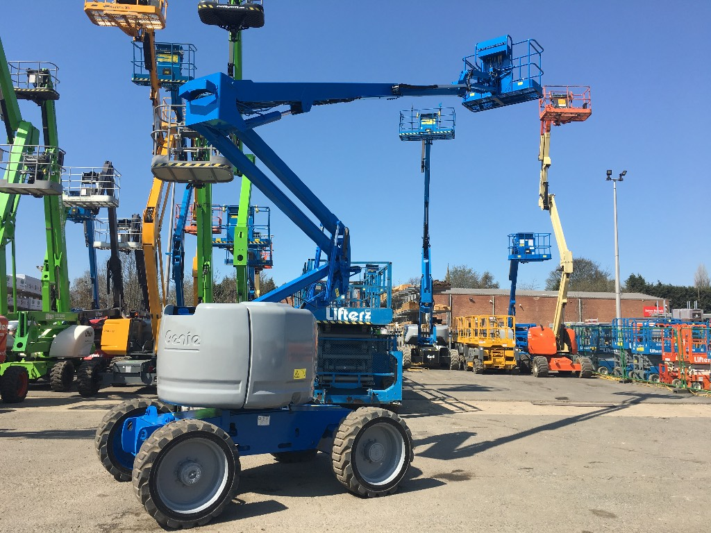 Genie Z 45/25 J RT, Articulated boom lifts, Construction