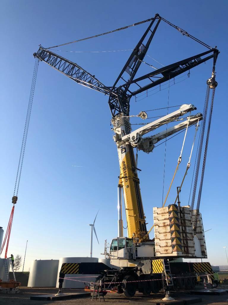 Terex Demag AC 500-2, All terrain cranes, Construction