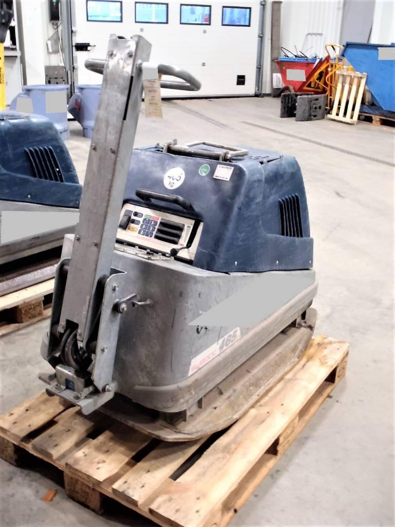 Swepac FB465V, Vibratorer, Entreprenad