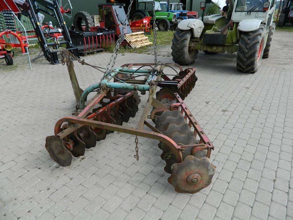 Kverneland 300, Disku lobītāji/ ecēšas, Lauksaimniecība