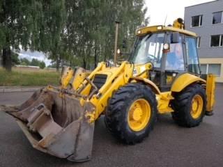 JCB 4 CX - Backhoe loaders - Construction - Stokker