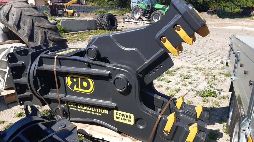 Rent Demolition D15, Nożyce, Maszyny budowlane