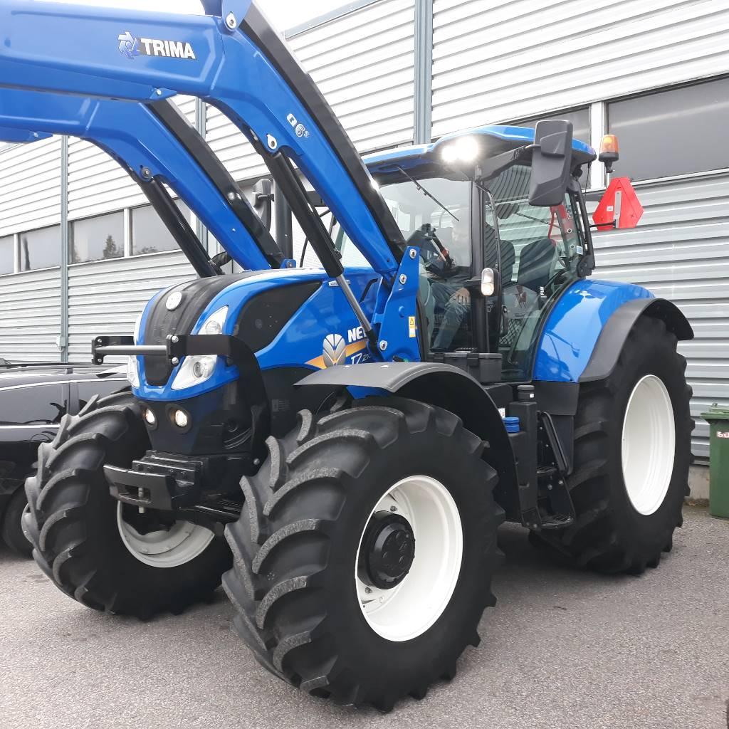 New Holland T 7.210 PC, Traktorit, Maatalous