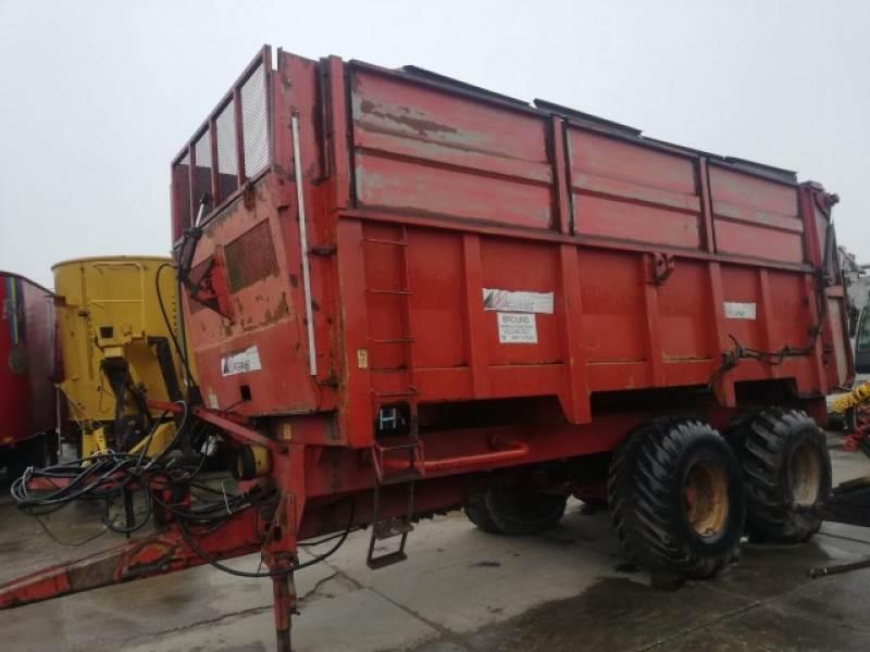 Agrimat T120, Opraapwagens, Landbouw