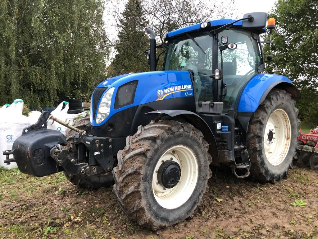 New Holland T 7.200 PC, Traktorit, Maatalouskoneet