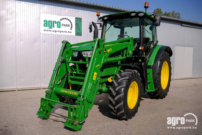 John Deere 6125R H340 with 4499 hours, Tractor with 40 km h