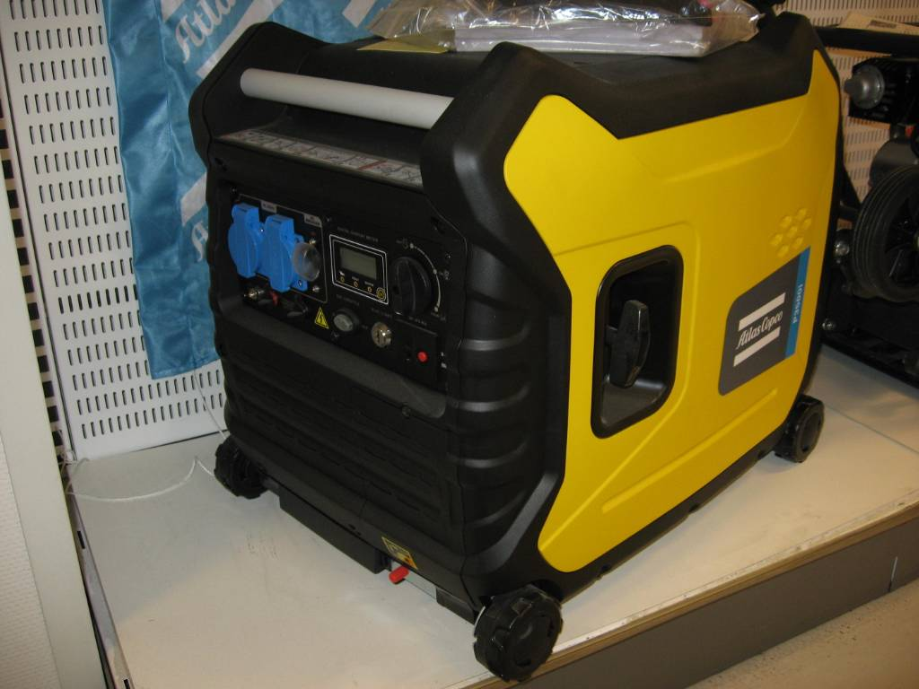 Atlas Copco generator P3500i, Bensingeneratorer, Entreprenad