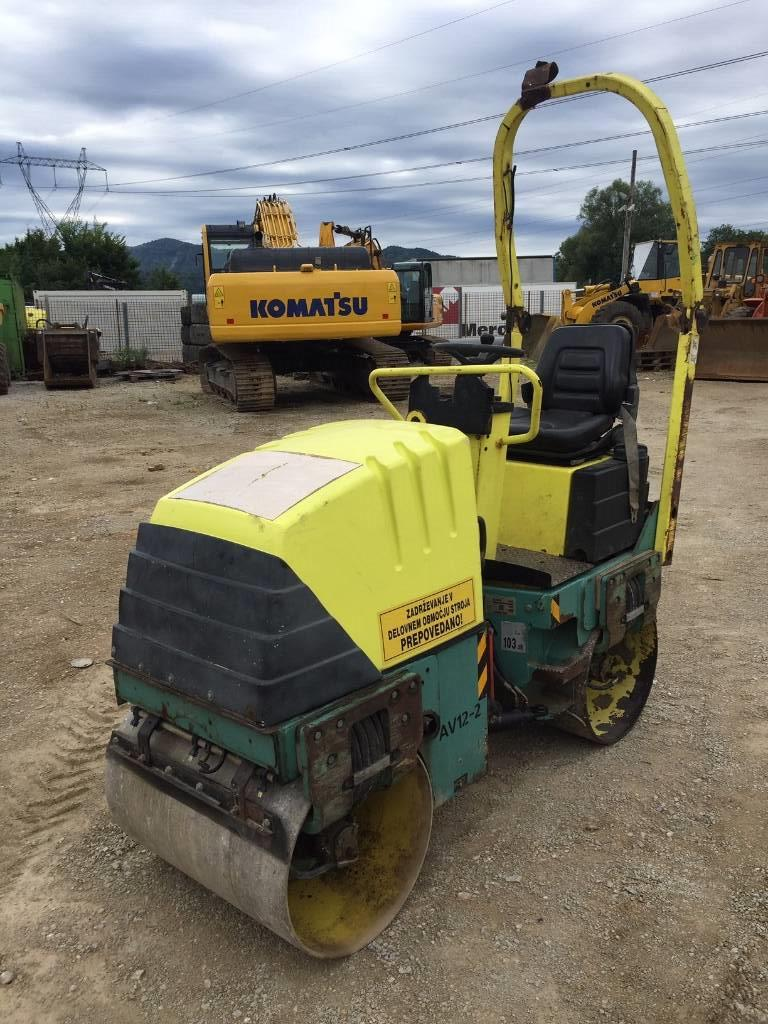 Ammann AV 12-2, Twin drum rollers, Construction Equipment