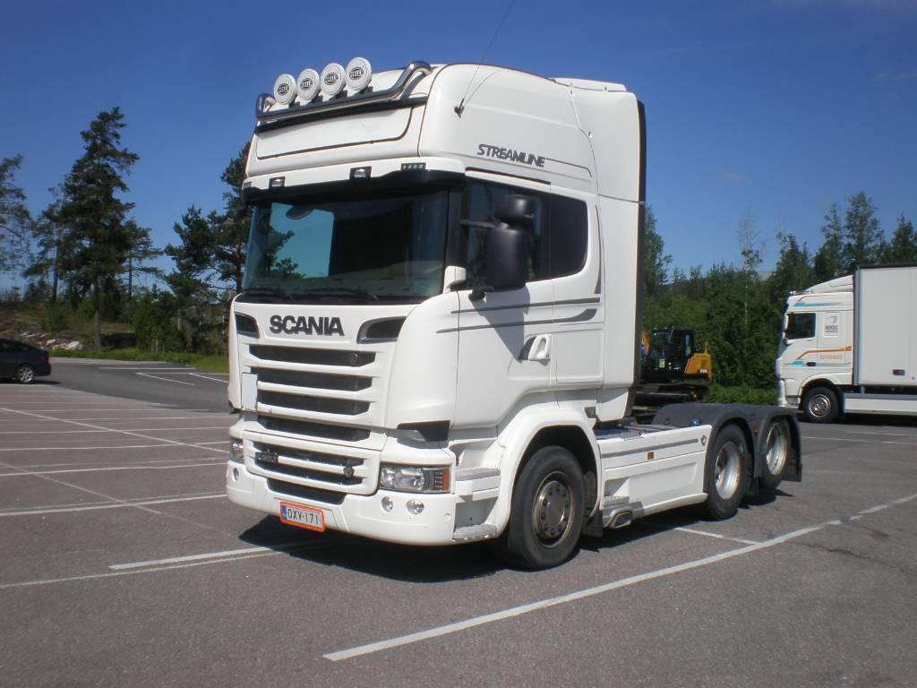 Scania R 520 LA, Vetopöytäautot, Kuljetuskalusto