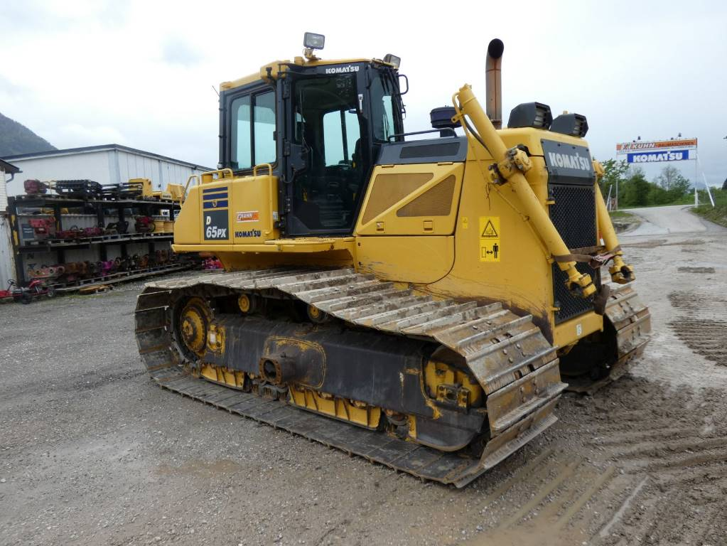 Komatsu D65PX-17, Crawler dozers, Construction Equipment