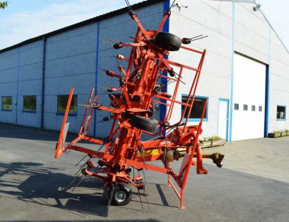 Kuhn GF 8501, Harkkeerders en schudders, Landbouw