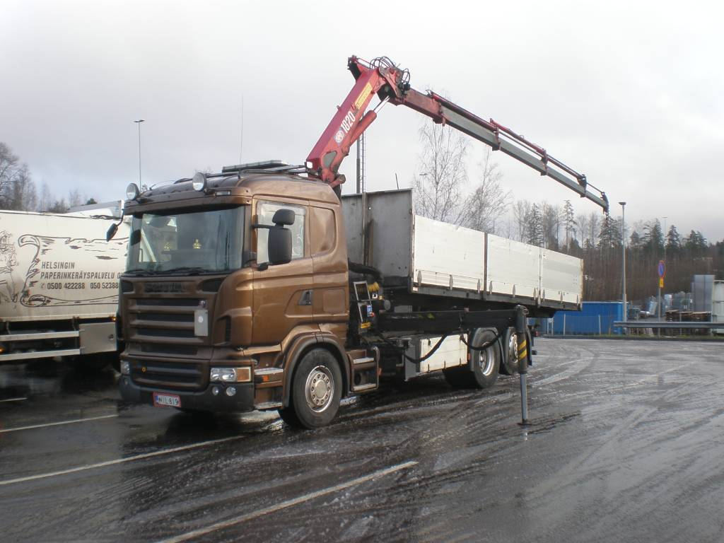 Scania R 470, Boom / Crane / Bucket Trucks, Trucks and Trailers