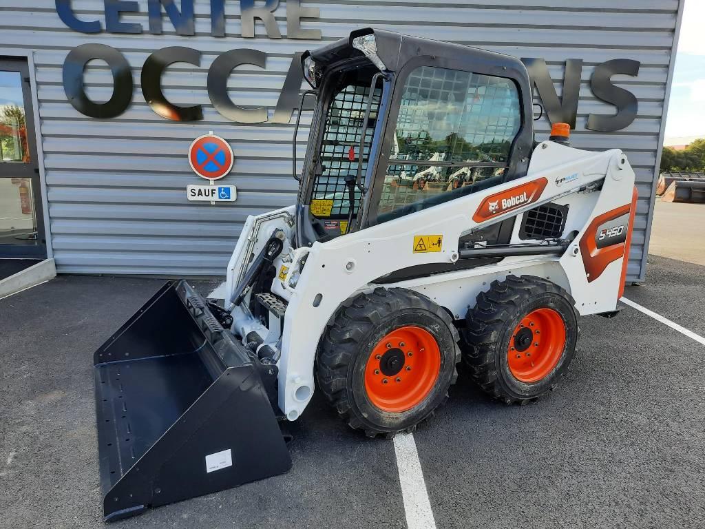 Bobcat S 450, Skid Steer Loaders, Construction Equipment