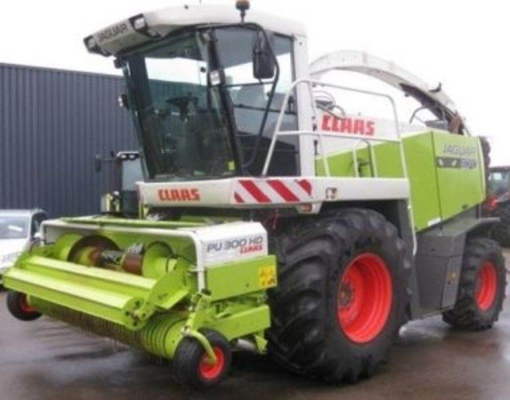 CLAAS jaquar 870 schade machine, Forage harvester headers, Agriculture