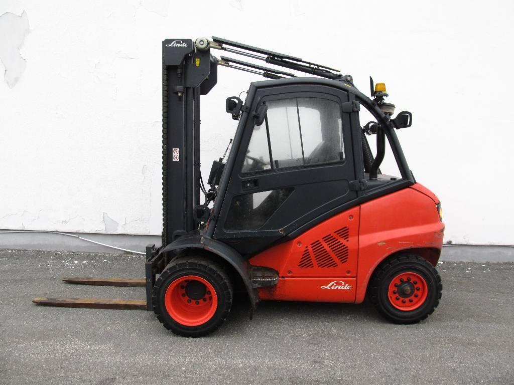 Linde H40D/394, Diesel trucks, Material Handling